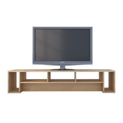 """nori contemporary 72"""" tv stand   dekorasi rumah, rumah"""