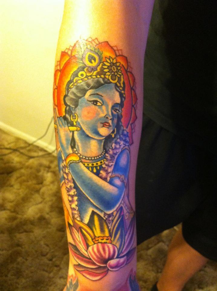 11 best images about krishna tattoos on pinterest. Black Bedroom Furniture Sets. Home Design Ideas
