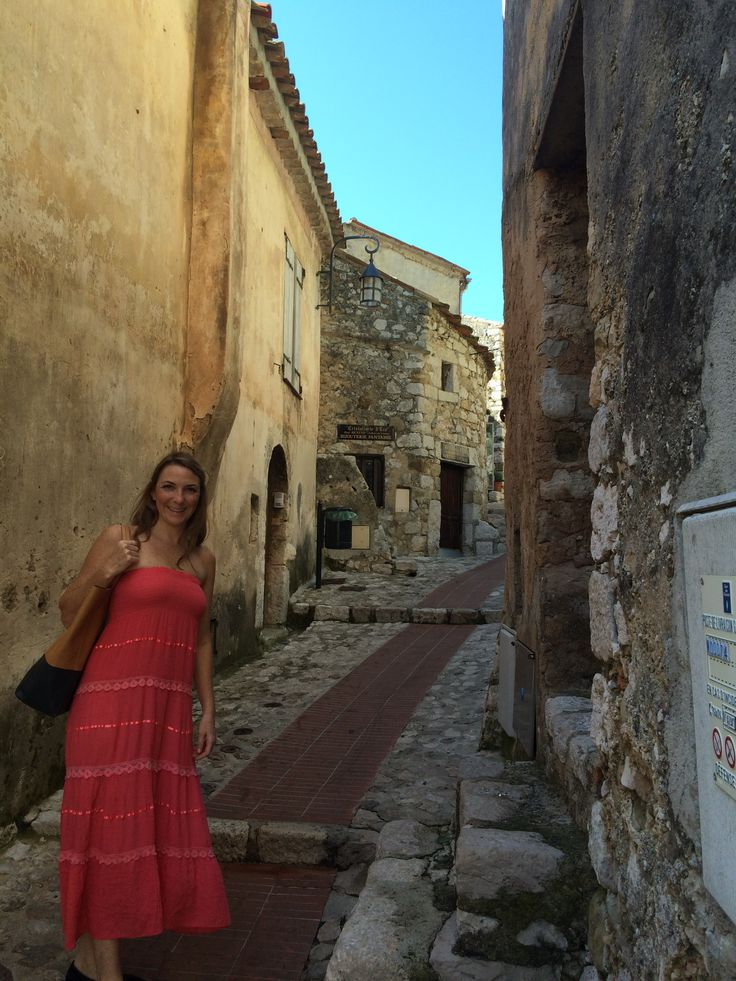 The Streets of Eze Village