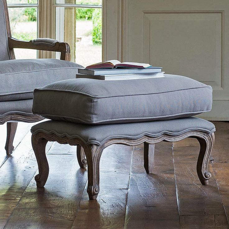 filou french footstool by alison at home | notonthehighstreet.com