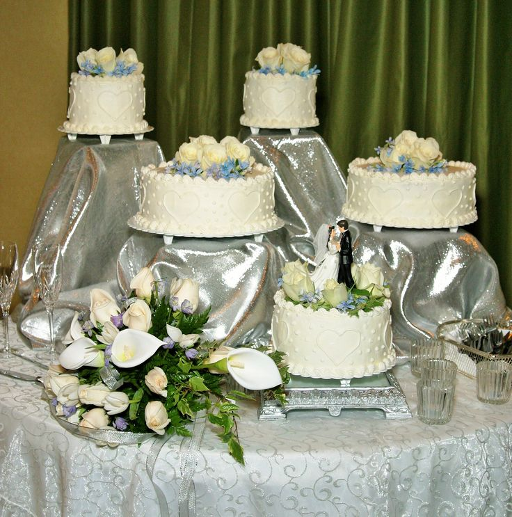 5 separate wedding cakes 17 best images about wedding cake ideas on 10450