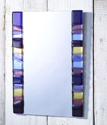 Excellent 63 best Fused glass mirrors images on Pinterest | Stained glass  SZ18