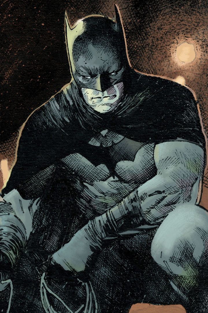 Batman, dc comic, sit, art, 720x1280 wallpaper