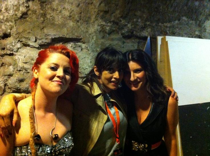 WIND MUSIC AWARDS con Noemi e Laura Pausini