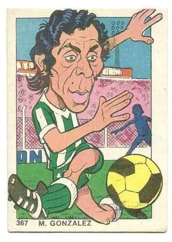 M. Gonzalez - Banfield #367  1976