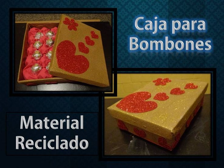 Caja para Bombones