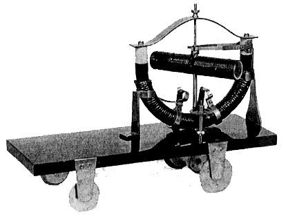 elektromos motor, 1828 Jedlik Ányos -1828 Ányos Jedlik Electric Model Vehicle.  The World's First EV.