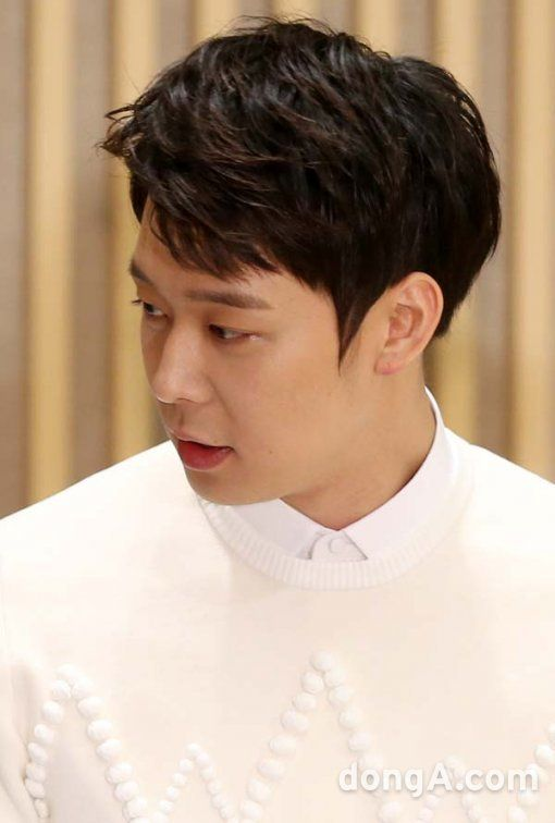 "Our Prince Charming Yuchun at ""The Girl Who Sees Smells"" Press Conference ❤️ JYJ Hearts"