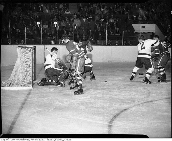 Toronto Maple Leafs' first televised goal in 1968.