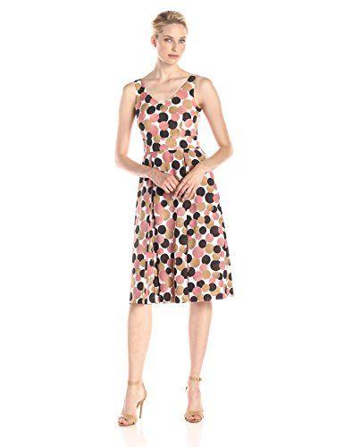 Anne Klein Women's Sleeveless Printed Double Pleat Midi Dress, Petal Combo, 4 Anne Klein http://www.amazon.com/dp/B00V92YOSW/ref=cm_sw_r_pi_dp_Koy8vb1W78F7X