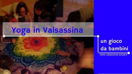 Parte il 18 gennaio HappYoga, un corso di yoga per bambini della #Valsassina, in cinque lezioni