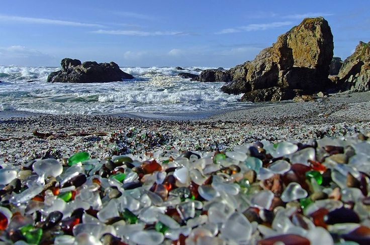 Glass Beach in Kalifornien: Der schönste Müll-Strand der Welt