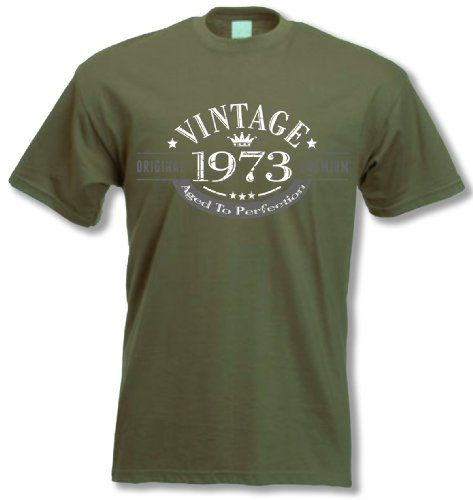 My Generation Gifts 1973 Vintage Year - 40th Birthday Gift Present T-Shirt Mens
