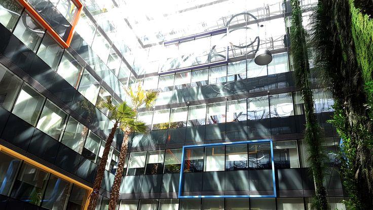 HBC Atrium, un proiect de arhitectura peisagera in cladiri office al biroului de peisagistica CMD Design.