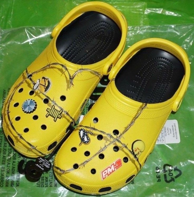 Post Malone Crocs Size 10 Limited Edition Brand New In