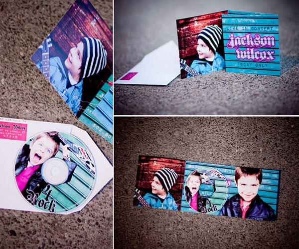 Awesome invites. Real Parties: Rock Star Birthday Party {Part 1} // Hostess with the Mostess®