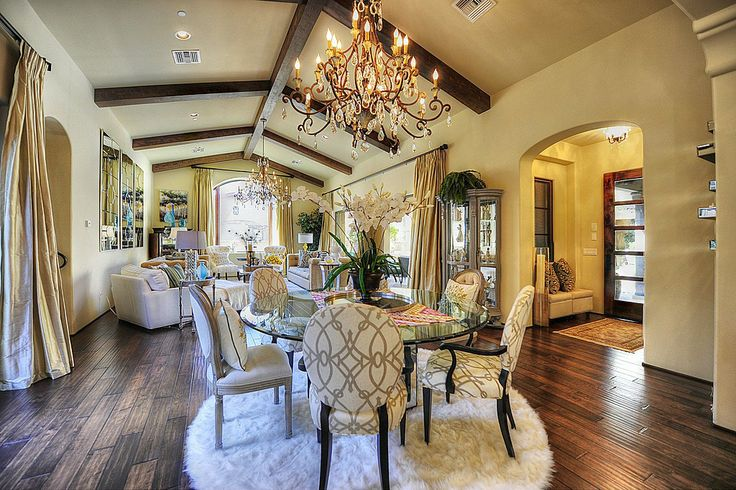 Mediterranean Great Room - Find more amazing designs on Zillow Digs!