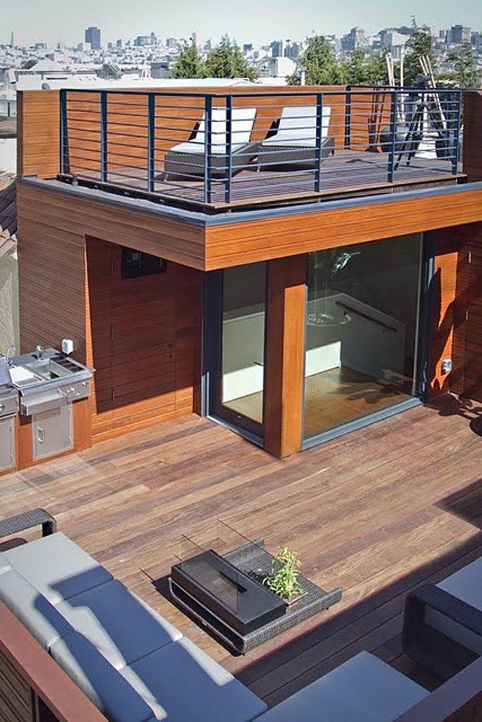 проект дома с террасой на крыше картинки это важный
