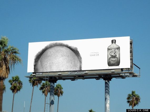 Louis CK One Calvin Klein Ad Spoofs Don't Stink