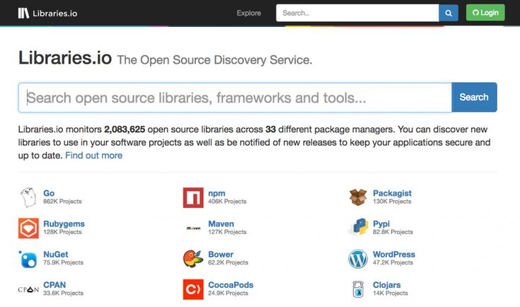 Libraries.io is a brand new undertaking for net designers and builders. It helps you keep on prime of libraries modules and frameworks from the open supply ocean.  Libraries.io: Touchdown Web page. (Screenshot: Noupe) Nimble Search Engine Ignores Platform Borders  Libraries.io is rising shortly. By now it already has greater than two million open supply tasks in its portfolio and it continues to develop steadily. The service integrates itself into virtually three dozens of various package…