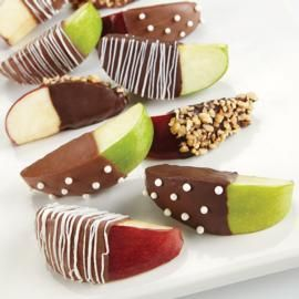 Appealing Apples Candy-Coated Treats