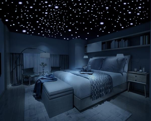 This is what my room at my parents house was like. Also I dabbed glow in the dark glue on the walls, it was space-tastic! Even had my favorite cluster of stars and Orion belt :)!!!