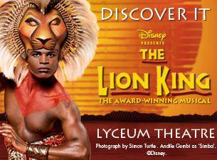 Disney Presents The Lion KingMusical