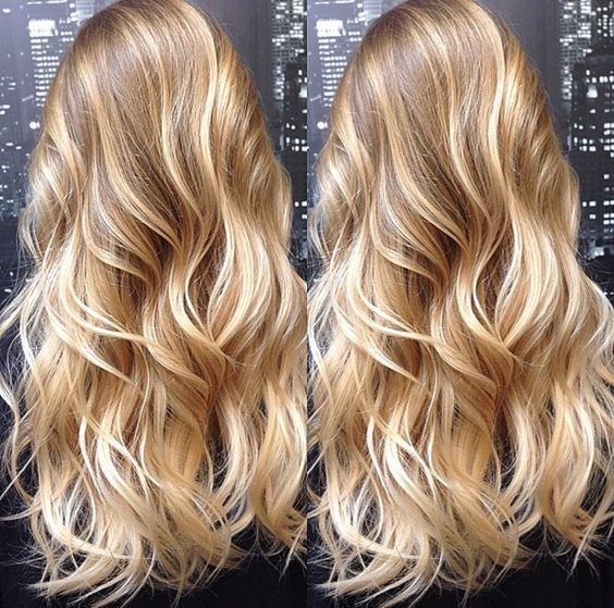 Ombre Blonde 7A Brazilian 100% Human Hair Wigs Wavy Full Lace Frontal Wig … – Lace wigs