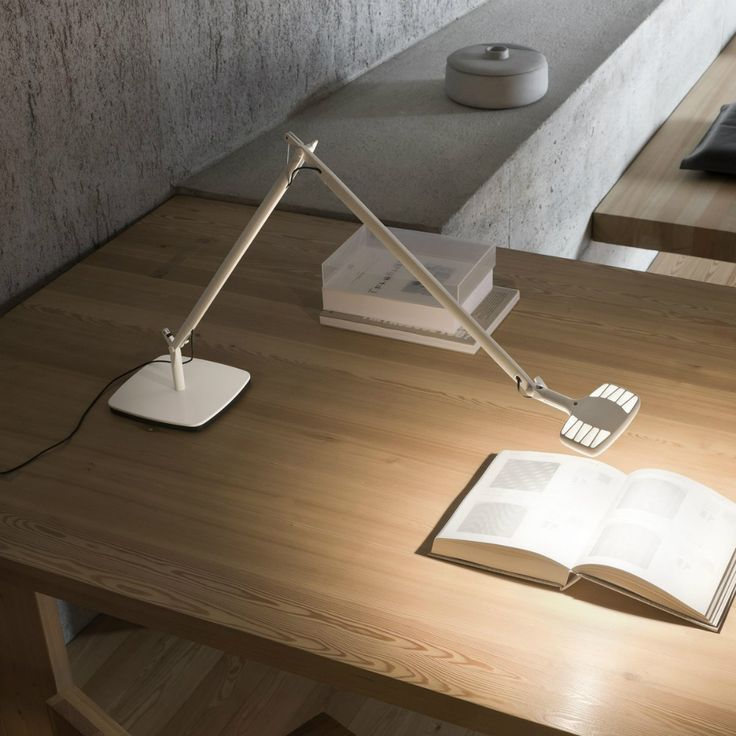 Luceplan Otto Watt, una luce efficiente che non affatica la vista e la mente.