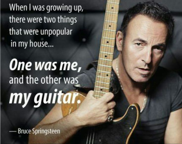 17 Best Ideas About Bruce Springsteen Quotes On Pinterest