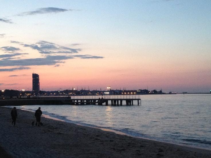 Wieczorny, romantyczny spacer z Mężem :) koniec tygodnia, początek weekendu... Relaks
