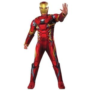 Deluxe Iron Man Adult Costume - Captain America: Civil War Adult Costumes