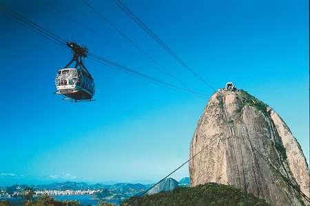 Rio de Janeiro, cidade maravilhosa: bondinho, Pão de açúcar, Cristo Redentor, e por aí vai.