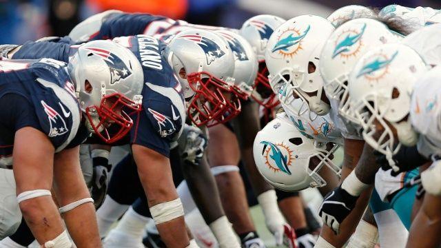 New England Patriots vs Miami Dolphins 2017 NFL Live Stream