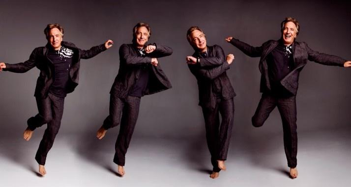 Alan Rickman dancing!