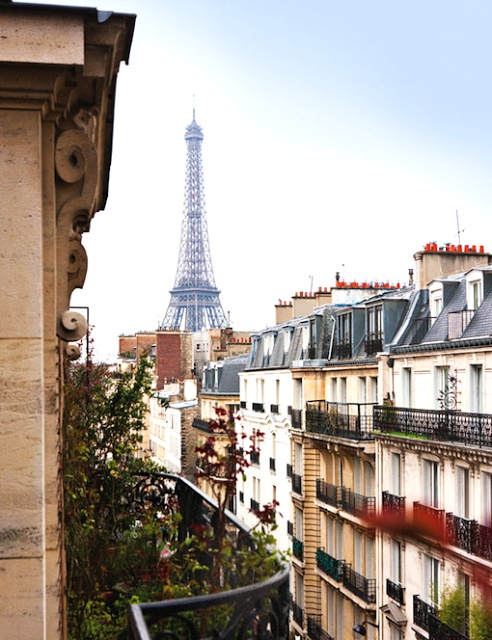 PARISIAN APARTMENT with a view