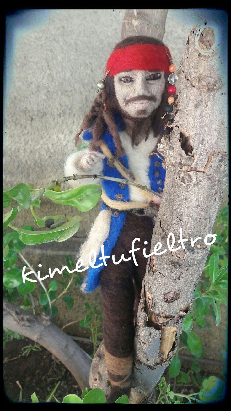 Jack sparrow  Piratas del caribe Figura con agujas  Chile