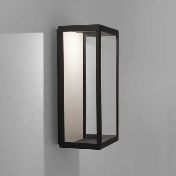The Puzzle LED From Astro Lighting Is A Fantastic And Simple IP44 Rated Exterior  Wall Light In A Black Finish Puzzle LED Exterior Wall Light Black Finish ...