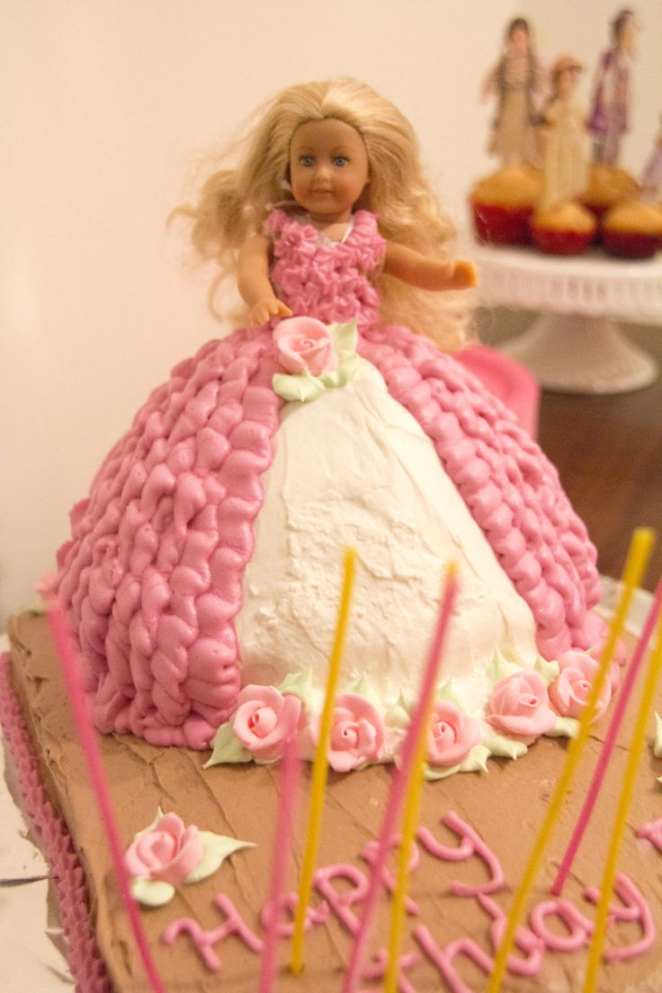 Mini American Girl Doll Birthday Cake | American Girl | Pinterest ...