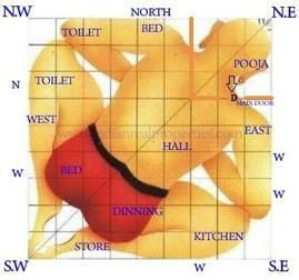 Vastu Design,Vastu Design Indian Homes,Vastu Design for Home,Vastu Designed Houses,Vastu Shastra for House and Home