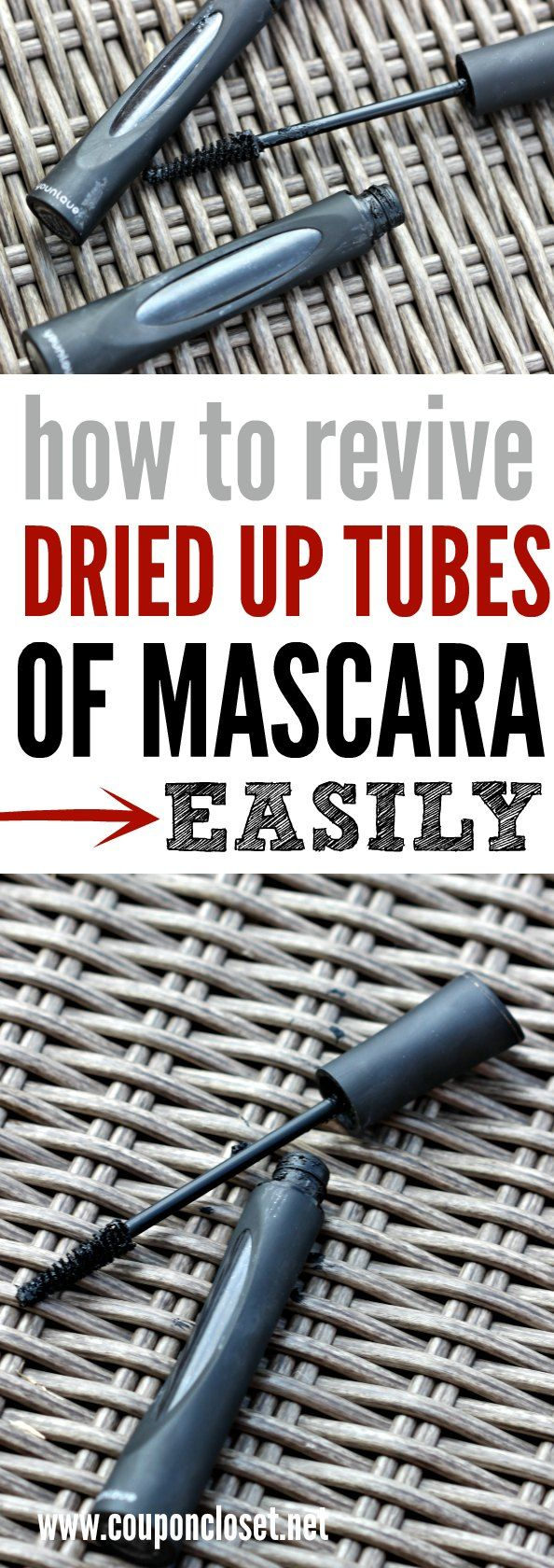 How to fix old and clumpy mascara. revive Mascara - even dry mascara. Thin out…