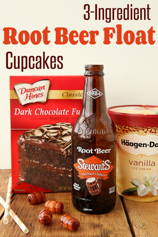 If you love root beer floats, wait until you see these cupcakes!