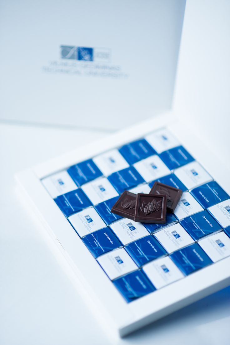 VGTU Chocolates.  #vgtu #vgtucollection #chocolate #university #vilnius #lithuania