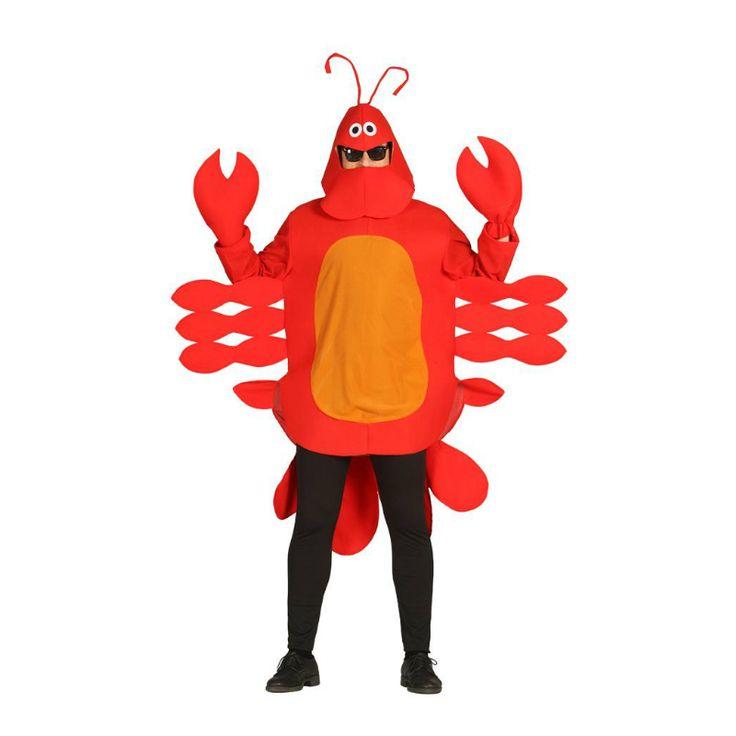 Disfraz de Langosta #disfraces #carnaval