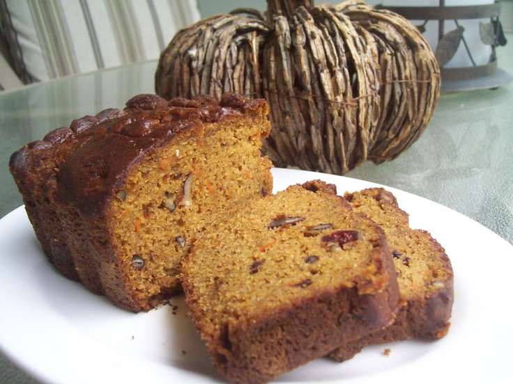 Olive Oil Pumpkin Bread | Lindsey's Kitchen | Pinterest | Pumpkin ...