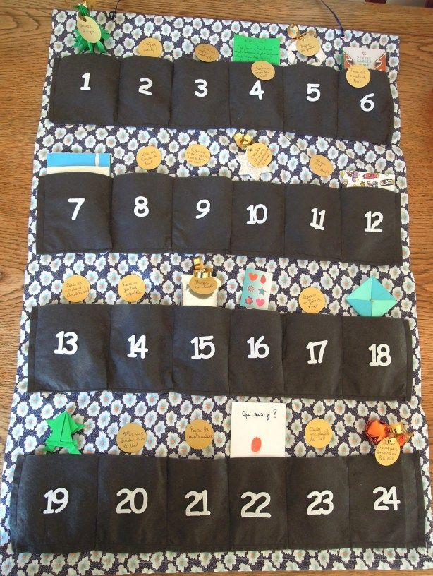 les 25 meilleures id es de la cat gorie calendrier de l 39 avent tissu sur pinterest tissu de. Black Bedroom Furniture Sets. Home Design Ideas