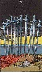 Ana Tarot: Diez de Espadas