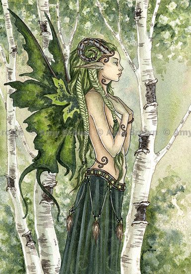 Forest Spirit Fairy 85x11  PRINT by Amy Brown by AmyBrownArt, $14.00