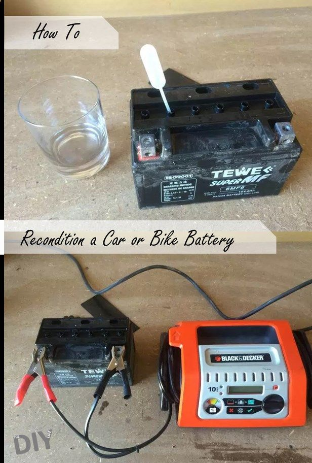 Battery Reconditioning a 12v Car Battery – Battery ...