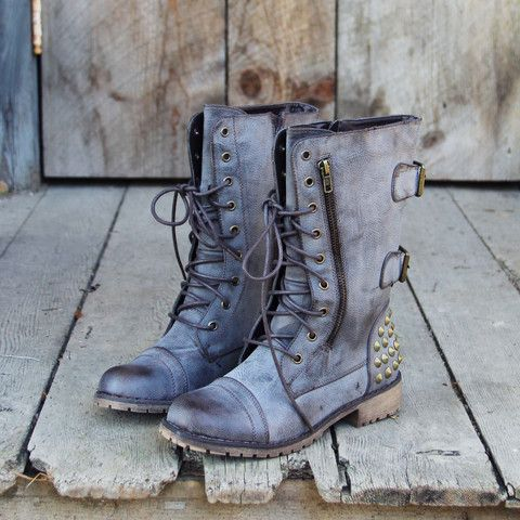 These are incredible. I love this wesite! - The Aberdeen Studded Combat Boots.
